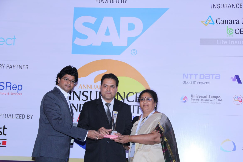 Sri giving away another award