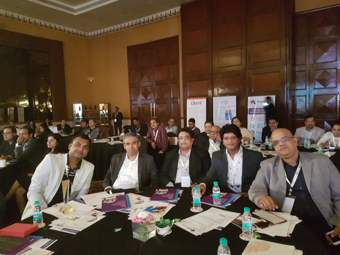 Sri with Clients at the Insurance summit 2017
